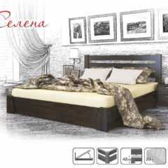 """Кровать деревянная """"Селена"""" с подъемным механизмом"""