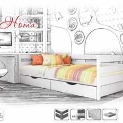 кровать белая, детская